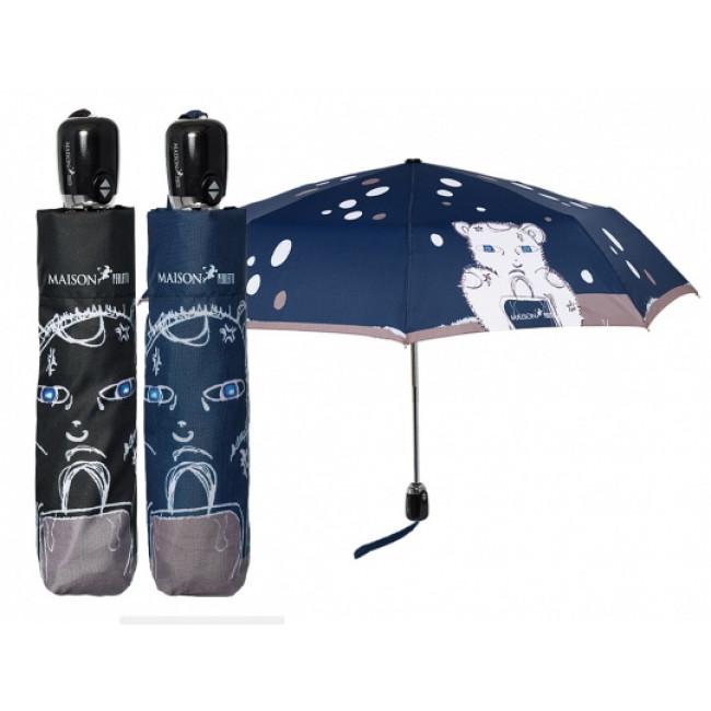 1022 Deštník skládací plně automatický