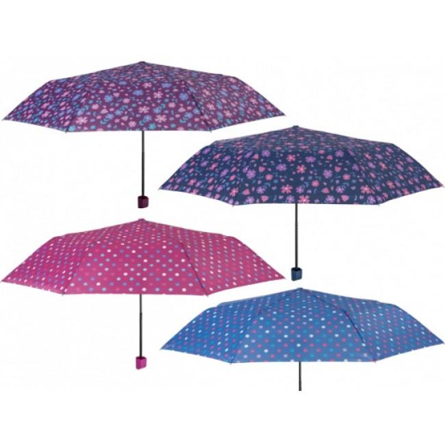 340-4 Deštník dámský manuální skládací typ 340