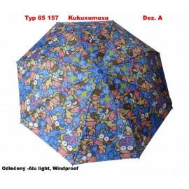 Dámský deštník skládací Kukuxumusu