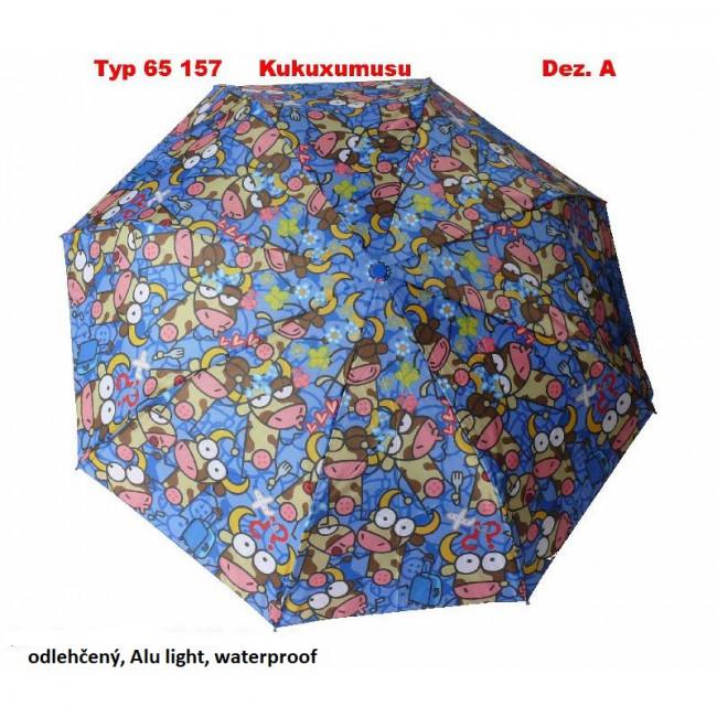 Deštník man. skládací Kukuxumusu