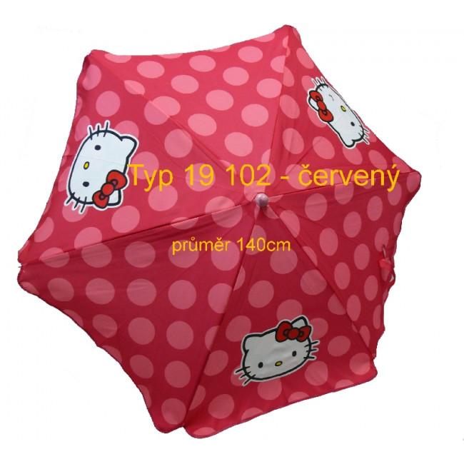 SA 2007 Slunečník 140cm Hello Kitty