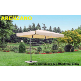 Slunečník Arenzano alustr 300x200cm