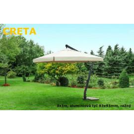 Slunečník Creta alustr 300x300cm
