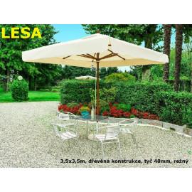 Slunečník Lesa 350x350cm