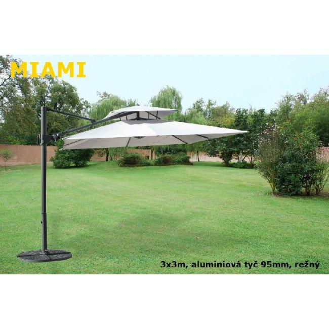 Slunečník Miami alustr 300x300cm