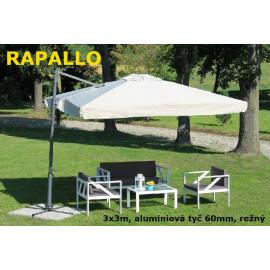 Slunečník Rapallo alustr 300x300cm
